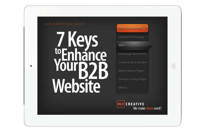 eBook: 7 Keys to Enhance Your B2B Website