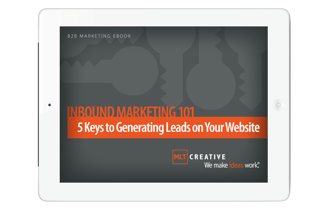 eBook: Inbound Marketing 101: 5 Keys to Generating Leads on Your Website