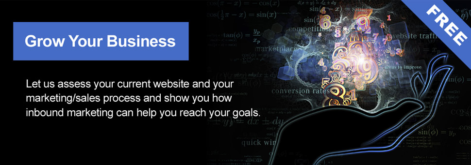 Grow Your Business With Our FREE Inbound Marketing Assessment Report!